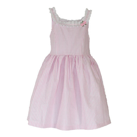 Sleeveless Stripe Toddler Dress