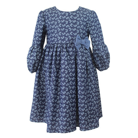 Denim Blue Toddler Dress