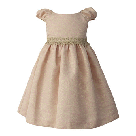 Brocade Toddler Dress