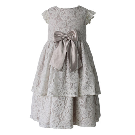 Paisley Lace Toddler Dress