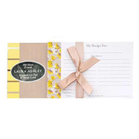 Millwood Listpad and Recipe Card Set