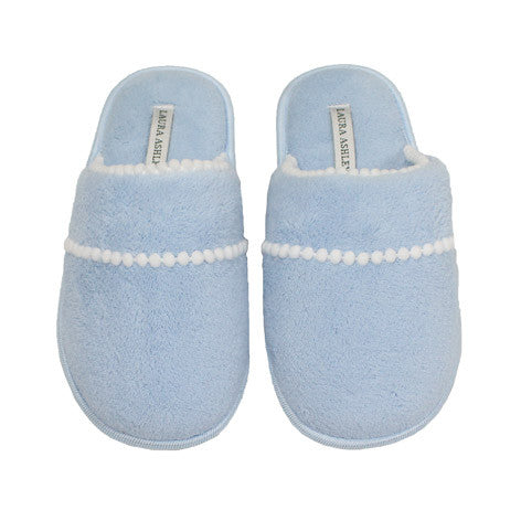 Kiera Blue Terry Slipper