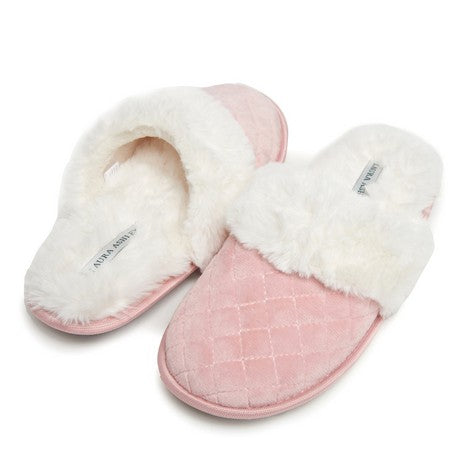 Dark Pink Spa Diamond Slipper