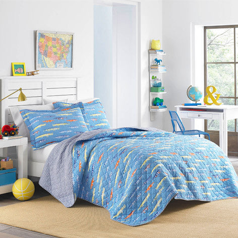 Alligators Quilt Set