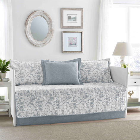 Amberley Blue Daybed Set