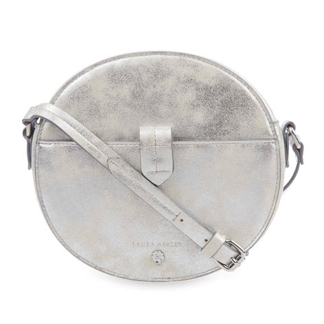 Silver Round Cross Body
