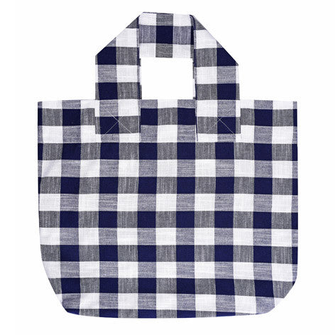 Gingham Shopper Bag