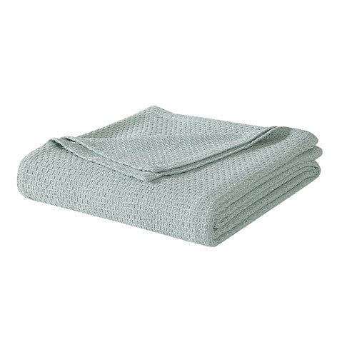 Sage Cotton Blanket