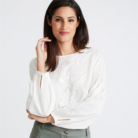 Whitework Embroidery Blouse