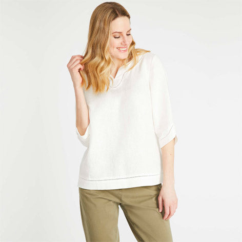 Linen Pop Over Top