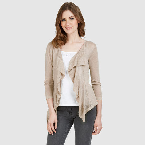 Waterfall Pointelle Cardigan