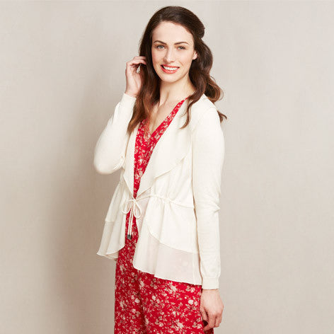 Waterfall Tie Cardigan