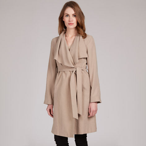 Waterfall Trench Coat