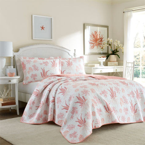 Cape Coral Poppy Quilt Set