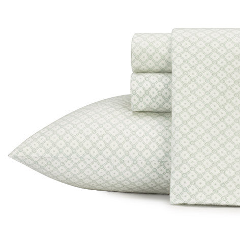 Daisy Diamond Flannel Sheet Set