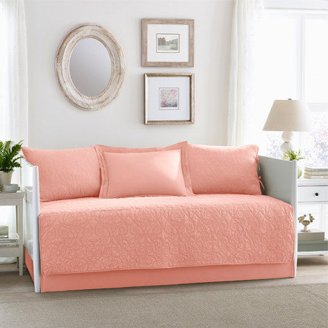 Felicity Coral Daybed Set