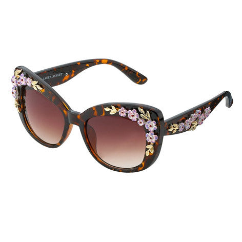 Flower Accent Sunglasses