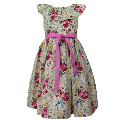 Floral Print Toddler Dress