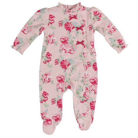 Queensbury Pink Floral Sleep and Play