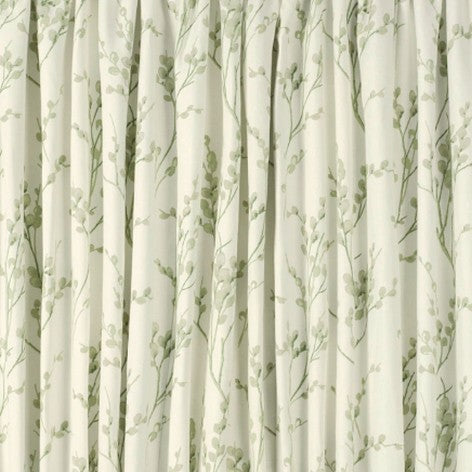 Pussy Willow Off White and Hedgerow Ready Made Curtains