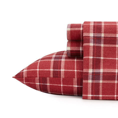Highland Check Flannel Sheet Set