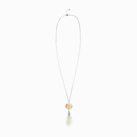 Shell Tassel Pendant Necklace