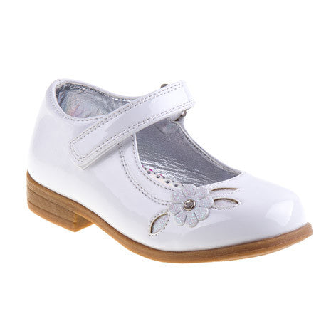 Pippa Mary Jane Girls White Dress Shoes