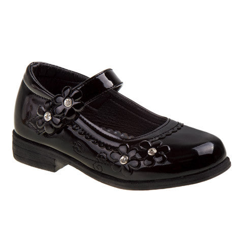 Bronwyn Girls Black Mary Jane Dress Shoes
