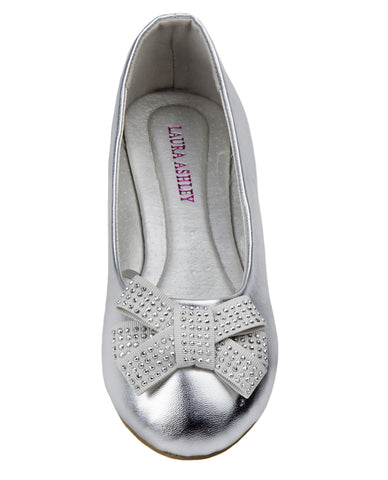ca3300ea17e Lilly Silver Embellished Mary Jane Size 11-4.   30.00