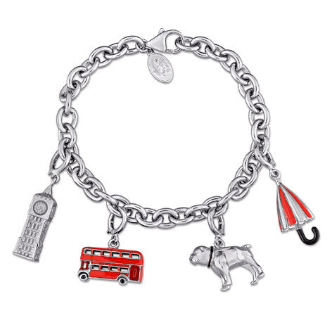 Great Britain 4 Charms Bracelet