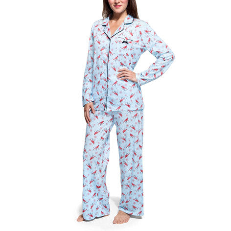 Red Bird PJ Set
