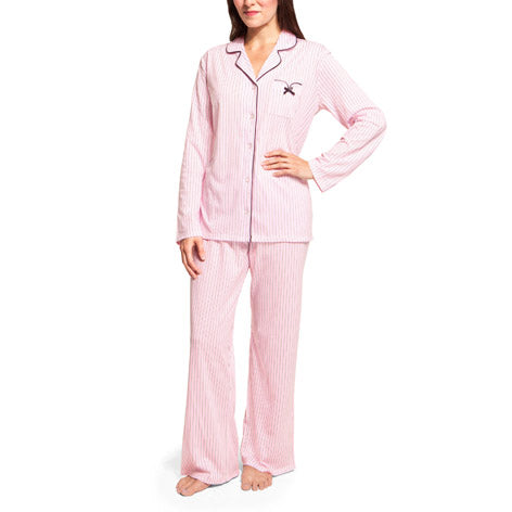 Pink Stripe PJ Set