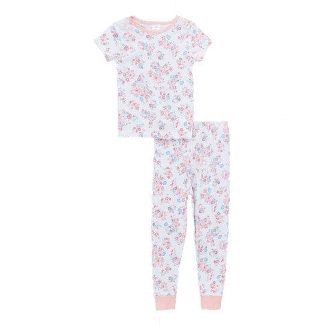 Candy Floral Shirt and Pant PJ Set