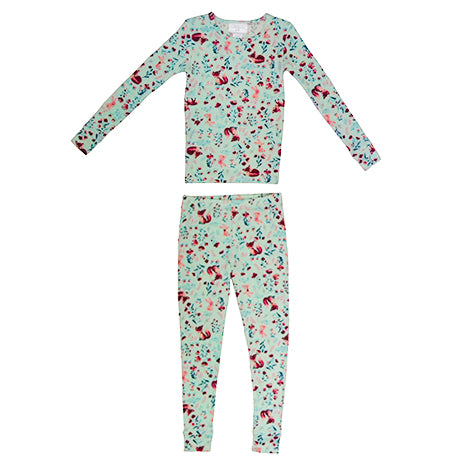 Girls Long Sleeve Fox Sleep Set