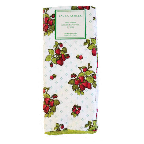 Strawberry Toss Kitchen Towels
