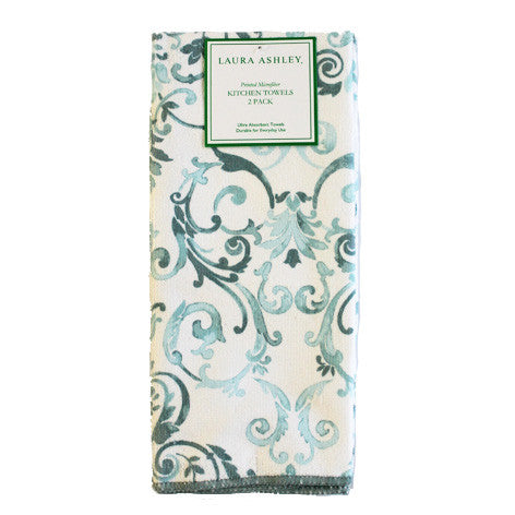 Halstead Scroll Kitchen Towels
