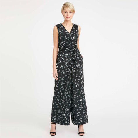 Printed Occasion Jumpsuit