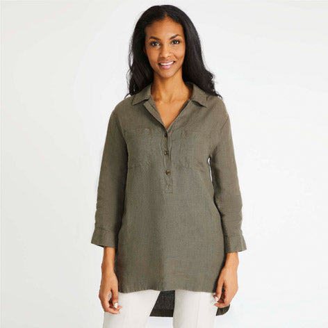 Pop Over Shirt Tunic