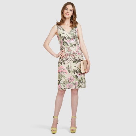 Highland Floral Jersey Dress