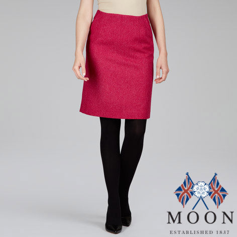 British Wool Straight Skirt