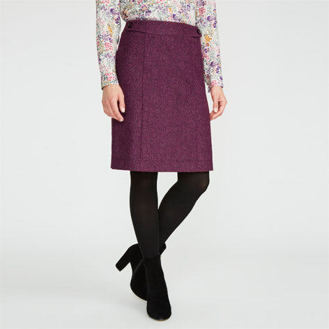 Moons Tab Detail Skirt