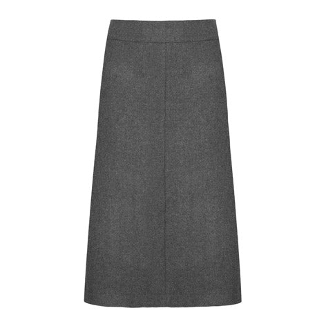 A-Line Belted Skirt