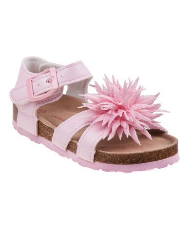 Laura Ashley Violet AND PINK Girls BABY//Toddler  Sandals SIZE 5 NEW IN BOX