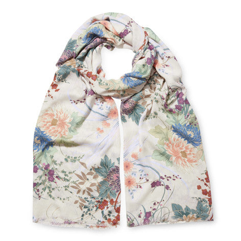 Faded Charm Floral Pashminetta