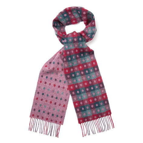 Moon British Wool Spot Scarf
