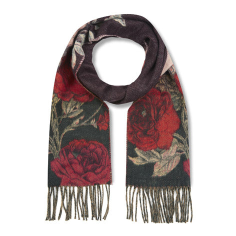 Winter Rose Cashmink Scarf