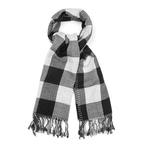 Double Sided Gingham Scarf