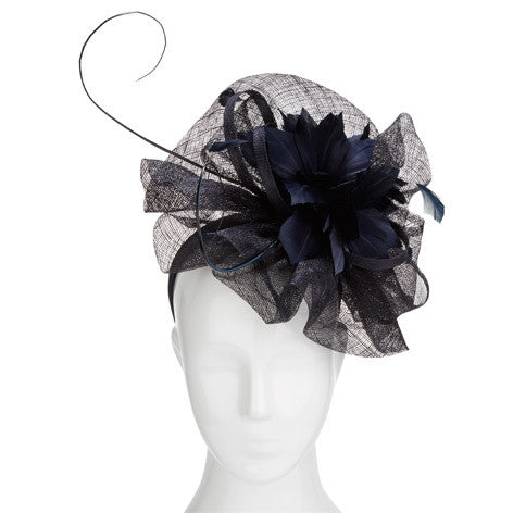Flower Wave Fascinator Headband