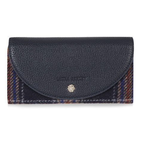 Moon British Wool Plaid Wallet