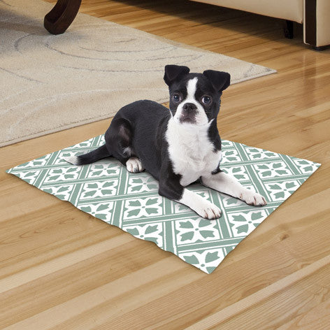 Reversible Sage Small Cooling Mat